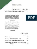 Rodolfo Benavides - Cuando Las Piedras Hablan Los Hombres Tiemblan