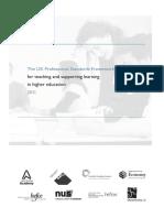 UK Professional Standards Framework (PSF)_0