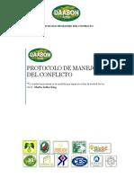 Protocolo Manejo Conflicto