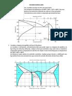 Exercicio diagrama de fases