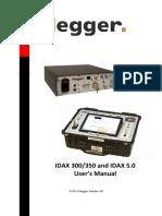 Megger - IDAX 300,350 User's Manual