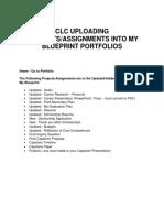 clc   capstone portfiolo items to upload into myblueprint