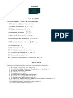 Guia de Trabajo Algebra Paula Andrade
