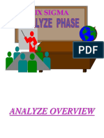 Six Sigma Analyse Phase 1