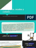 SESIÓN 02 - Entre Gustos, Modas y Colores... (PFRH)