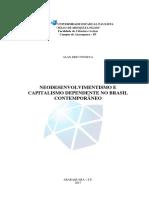 FONSECA, A. E. Neodesenvolvimentismo e Capitalismo Dependente No Brasil Contemporâneo.