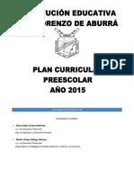 Plan de Área Preescolar Dimensiones