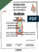 Certificado Word