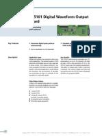 DS5101 Digital Waveform Output Board dSPACE Catalog 2008