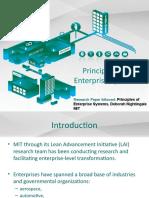 Principles of Enterprise System