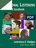 Relational Listening a Handbook