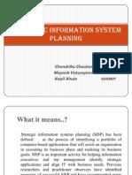 Strategic Information System Planning