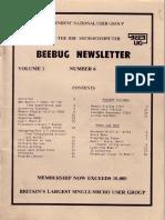 BEEBUG cover v1n6