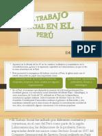 El Trabajo Social en El Perú