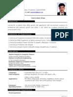 CV - Anzarriyaz - Freelance Web Designer