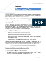 Succession Development Plan Template