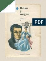 Rosu Si Negru Vol.1 - Stendhal