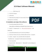 XY Plotter V2.0 Software Manual V1.1(Basic)