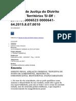 Tribunal de Justiça do Distrito Federal e Territórios TJ.docx