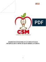 Dx Clinica de Salud Metabolica