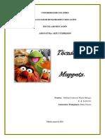 Trabajo Singular Técnica Muppets
