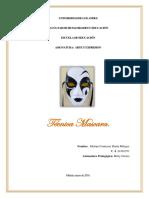 Trabajo Singular Técnica Mascara