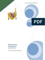 Separata Matematica Financiera - 2018 - Hidalgo