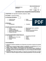 Sostenimiento Con Wood Pack Sostenimiento Con Wood Pack (Paquetes Sudafricanos)