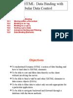 DHTML Data Binding
