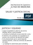 Salud y Justicia Social