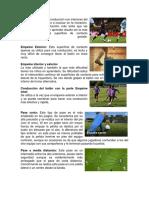 CONDUCCION en El Futbol