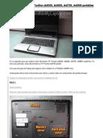 Cómo desarmar HP Pavilion dv6500