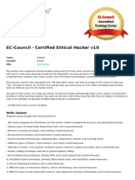 Certified Ethical Hacker v10