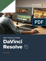Resolve 15.0 Manual