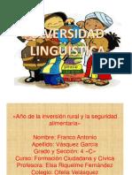 Diversidad lingistica