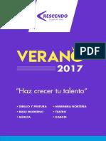 Info Cursos Verano 2017 Sanborja