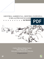 História Ambiental e História Indigena - E-BOOK