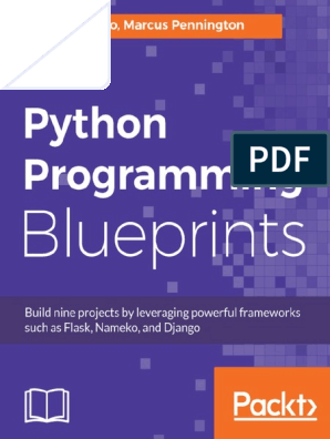 Python Programming Blueprints | Application Programming Interface
