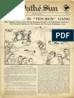 Pathe Sun (October 19, 1929)