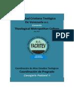 CONSEJERÍA PASTORAL II