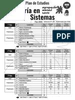 Sistemas Plan de Estudios