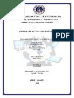 Reactivos de Las Normas ISO 27000