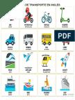 Medios de Transporte en Ingles