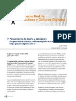 Pensamiento de diseño y educación.pdf