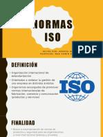 Normas ISO Diapositivas