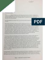 Easthampton anti-pipeline Letter
