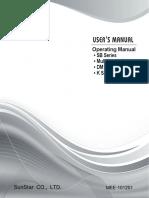 Swf k Series Manual En