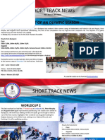 short-track luxembourg - newsletters 1 to 10 - 2017-2018