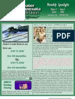 Monthly Spotlight August 2010