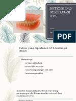 Retensi Dan Stabilisasi GTL